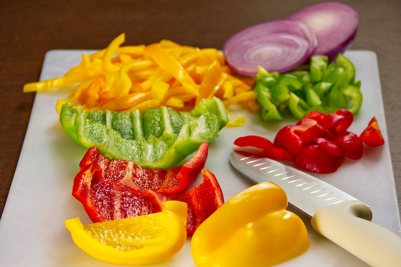 LV Taco | Fresh Cut Peppers